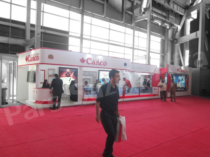 Canco Exhibition booth | Exhibition booth maker | Tehran Exhibition booths maker | Booths designer | Booth layouter
