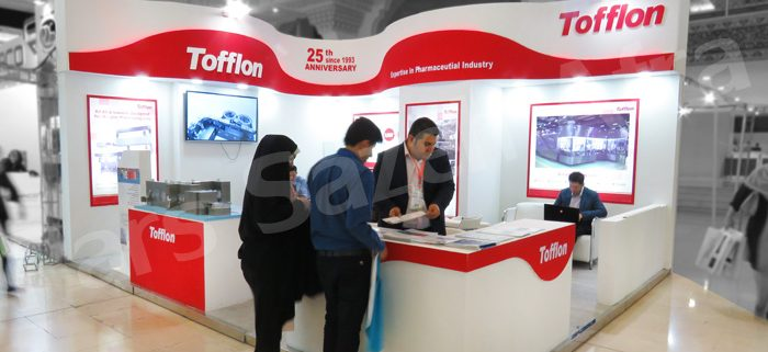 Tofflon Company Exhibition Booth