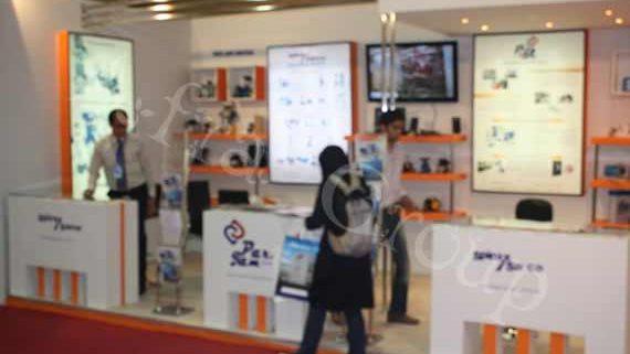 غرفه نمایشگاهی شرکت پارس جم کنترل