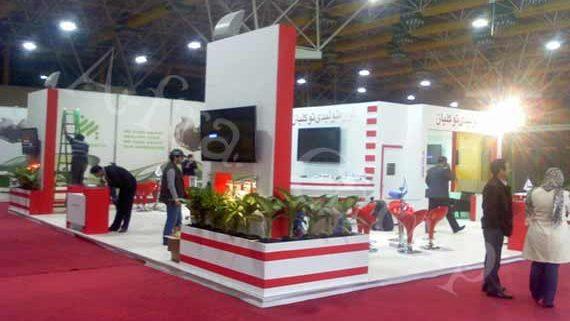 غرفه سازی نمایشگاهی گروه تولیدی توكلیان