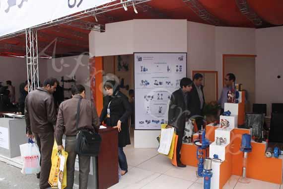 غرفه سازی نمایشگاهی پارس جم کنترل