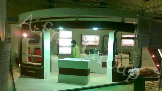 ساخت غرفه نمایشگاهی بيمارستان بقيه اله