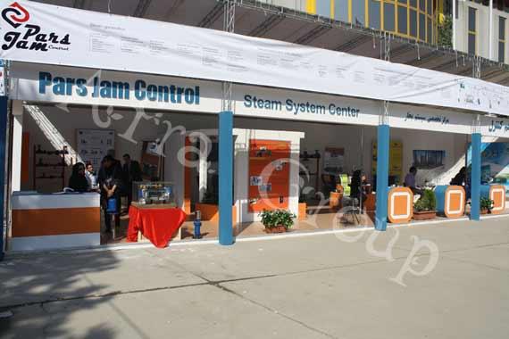 غرفه سازی نمایشگاهی شرکت پارس جم کنترل