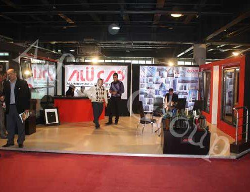 غرفه سازی نمایشگاهی شرکت آلوكد