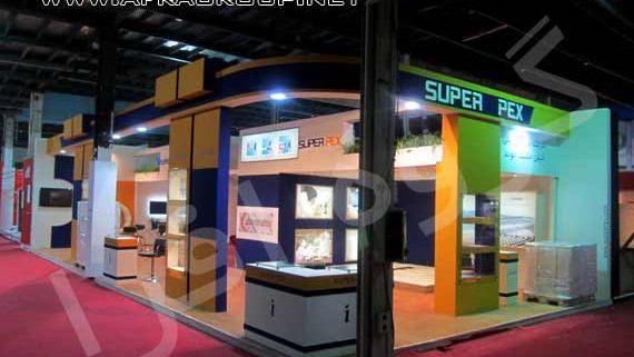 غرفه سازی نمایشگاهی شرکت سوپر پکس