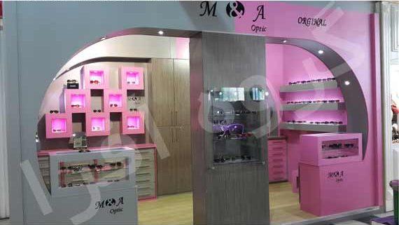 غرفه دائمی فروش عینک A & M
