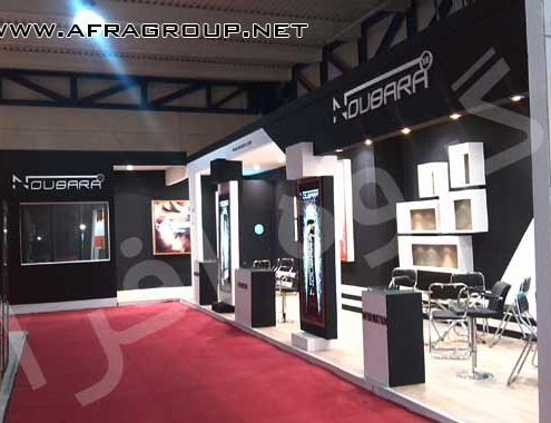 ساخت غرفه نمایشگاهی شرکت نوباركس