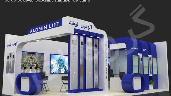 غرفه سازی صنعت آسانسور