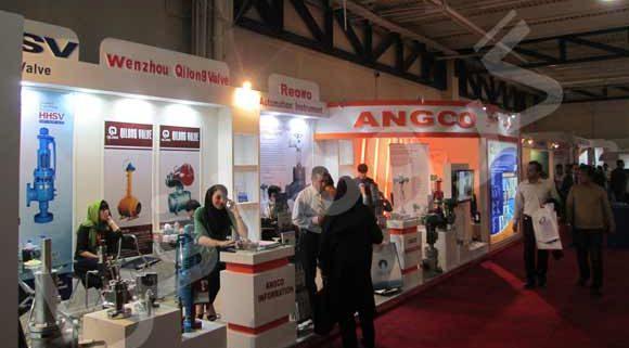 غرفه سازی نمایشگاهی شرکت انجكو ( آرام نوین گستر )