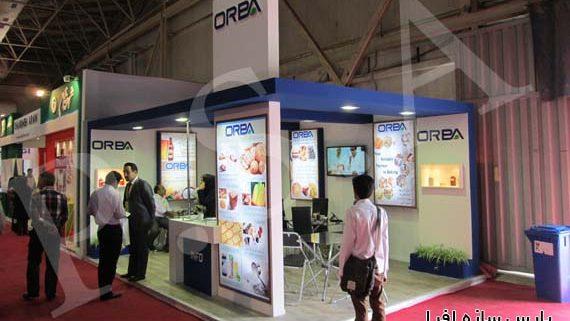 ساخت غرفه شرکت آلفا آنزیم (ORBA)