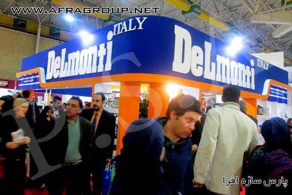 غرفه نمایشگاهی دلمونتی ایتالیا