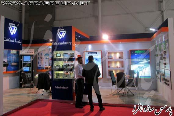 ساخت غرفه نمایشگاهی شرکت پتسا صنعت
