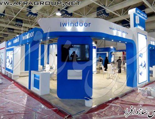 غرفه سازی شرکت iwindoor