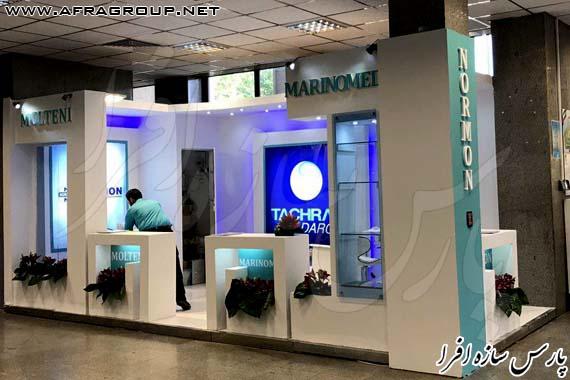 غرفه نمایشگاهی شرکت تچرا دارو