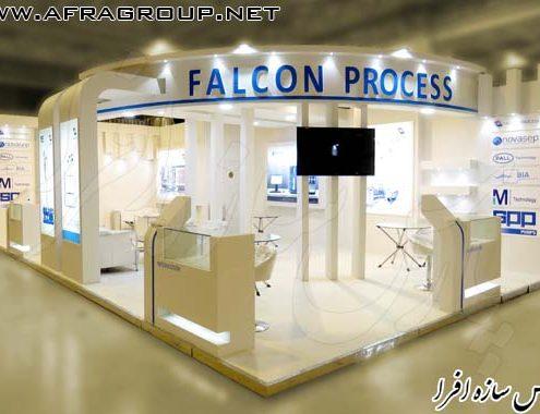 ساخت غرفه شرکت فالکون پروسس