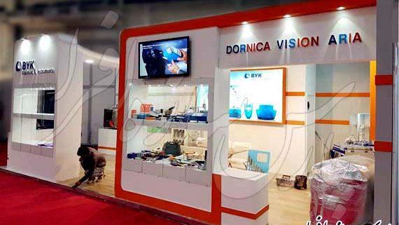 غرفه نمایشگاهی شرکت درنیکا ویژن آریا