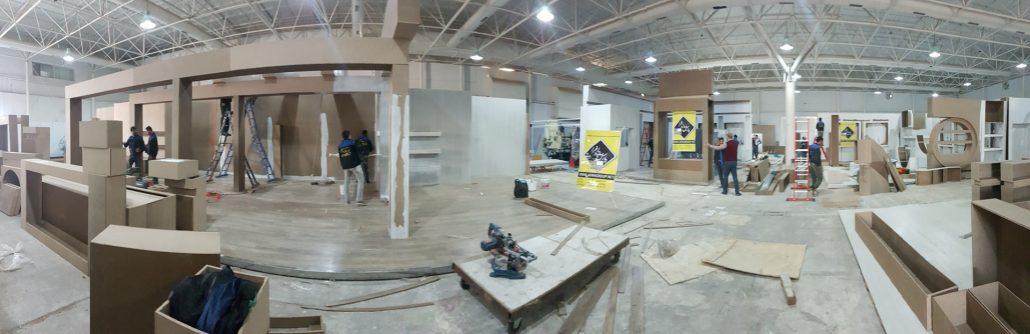 غرفه نمایشگاهی پارس سازه افرا