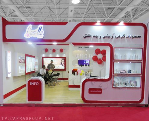 غرفه نمایشگاهی مهان سپهر تابان