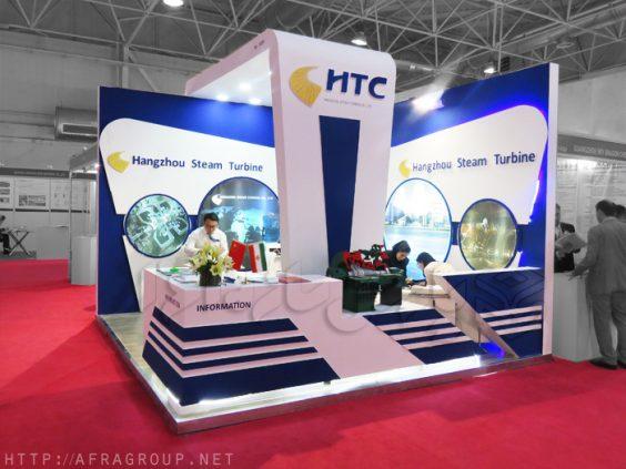 غرفه سازی شرکت HTC