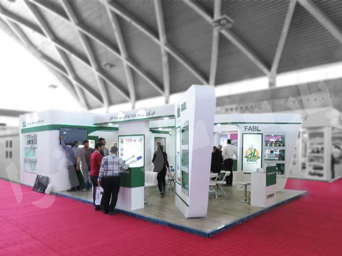 غرفه سازی نمایشگاهی شرکت فابل