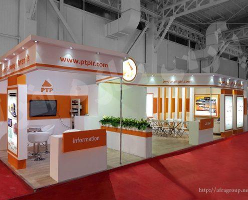 غرفه سازی اهرام فناوری قدرت   غرفه سازی پارس سازه افرا
