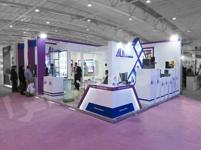 غرفه نمایشگاهی ایران الکس آلومینیوم