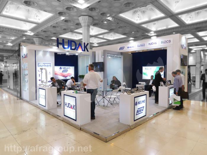 غرفه نمایشگاهی هوداک