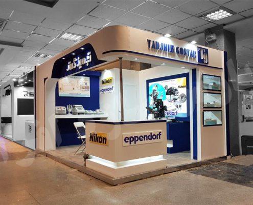 غرفه نمایشگاهی شرکت تجهیز گستر