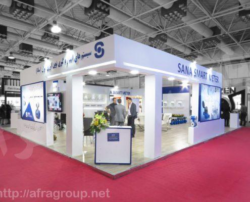 غرفه سازی نمایشگاهی شرکت سانا