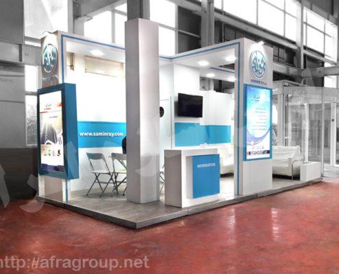 غرفه نمایشگاهی شرکت ثمین رآی