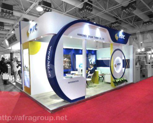 غرفه سازی نمایشگاه شرکت HTC