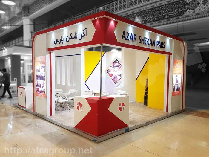 ساخت غرفه نمایشگاهی شرکت آذرشکن