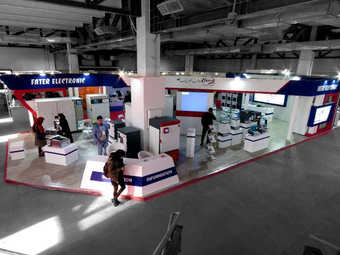 غرفه سازی نمایشگاهی - فاطر الکترونیک